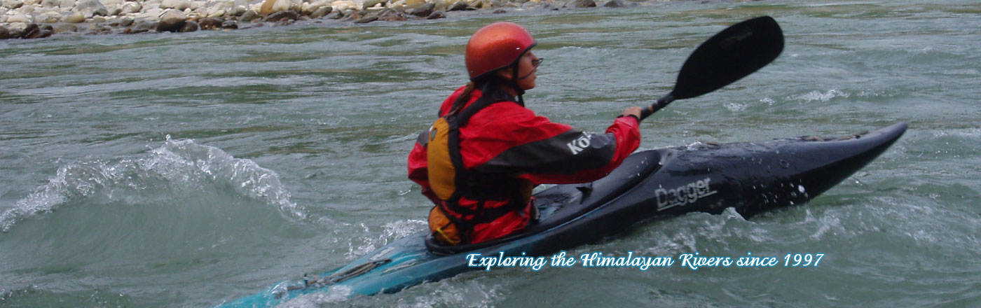 Kayaking in Nepal