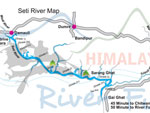 Map of Seti River
